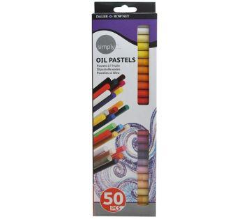 Daler Rowney Simply Yağlı Pastel Boya 50 Renk