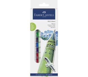 Faber Castell Yağlı Boya 12 Renk x 12 ml.