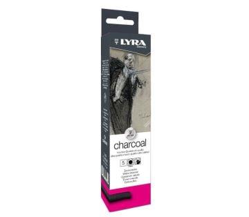 Lyra Charcoal Doğal Kömür Thick 5'li Kutu