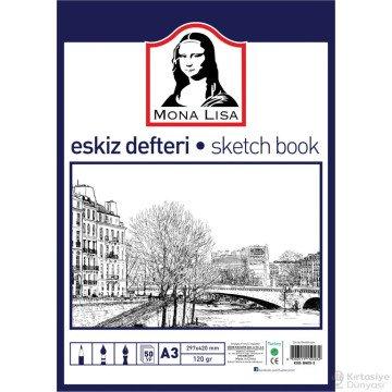 Südor Mona Lisa Eskiz Defteri Sketch Book A5 120 gr. 50 yp.
