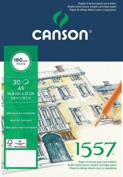 Canson 1557 Eskiz Spiralli Çizim Defteri A5 180 gr 20 Sayfa