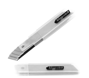 Bigpoint Dar Maket Bıçağı Yedeği 9 mm 100'lü Kutu