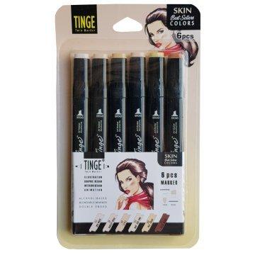 Tinge Marker Skin Tones Set 6'li