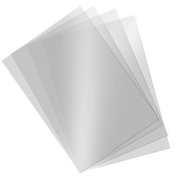 Asetat Kağıdı Şeffaf Transparan 250 Mikron A4 5'li
