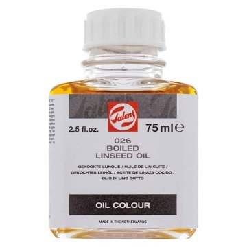 Talens Boiled Linsed Oil 026 Kaynatılmış Keten Yağı 75ml
