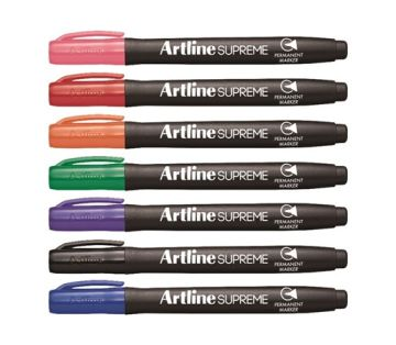 Artline Supreme Permanent Marker 7 Renk Set
