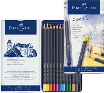 Faber Castell Creative Studio Goldfaber Kuru Boya Kalemi 12 Renk