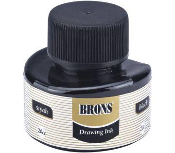 Brons Çini Mürekkebi Siyah