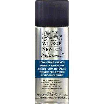 Winsor & Newton Professional Retouching Varnish Sprey Rötuş Verniği 400 ml.