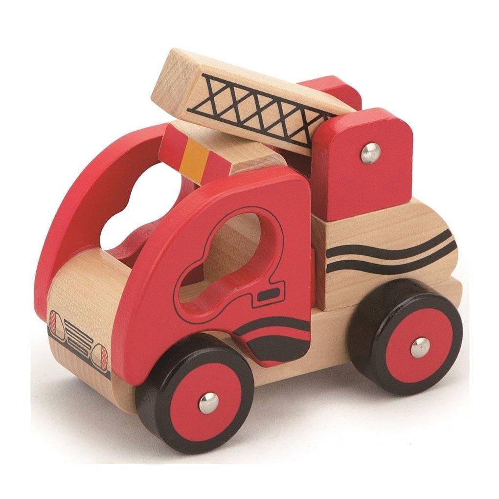 Ahsap Oyuncak Araba Itfaiye Egici Oyuncaklar Kitatoys Com Da