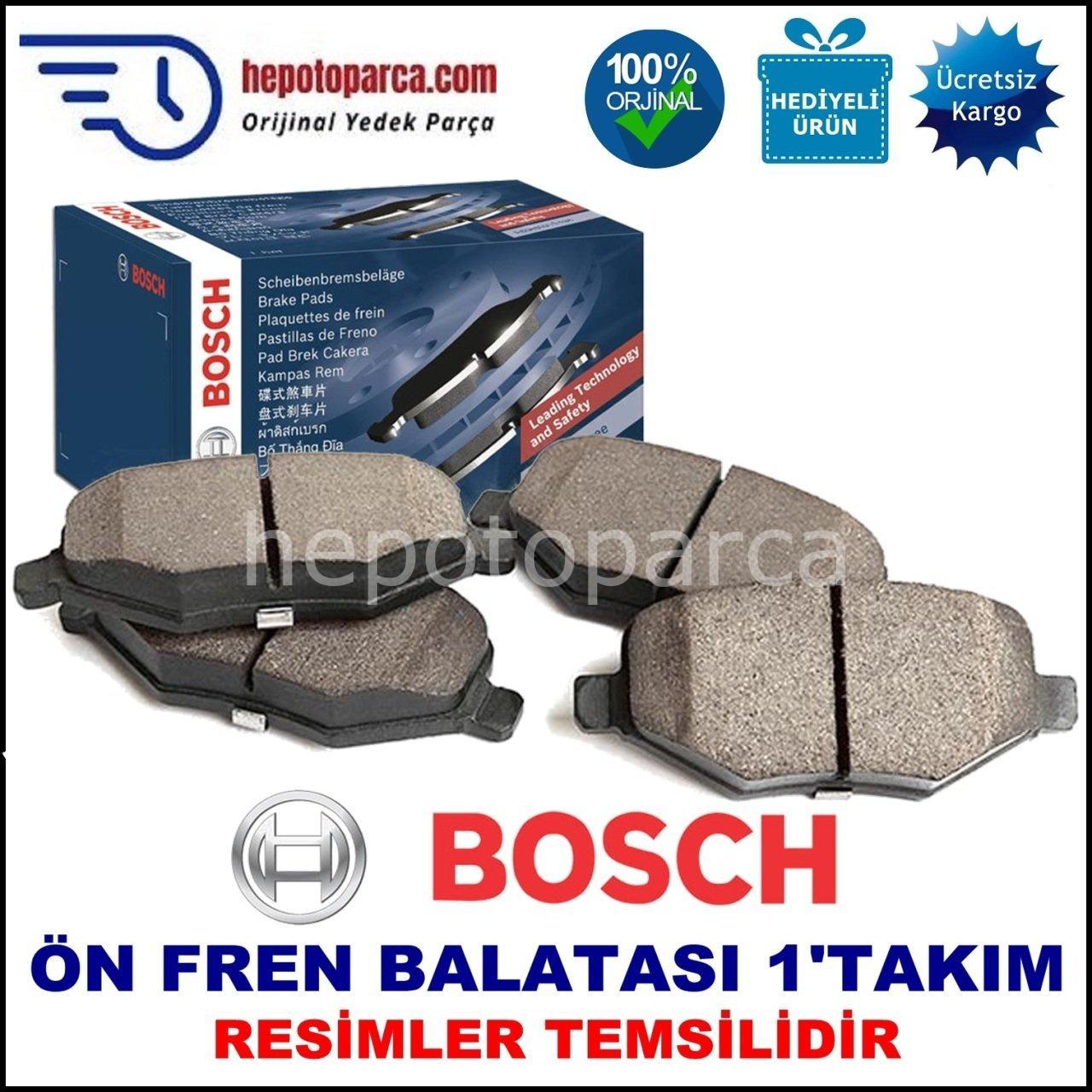 Details about  /For 2002-2005 BMW 745Li Brake Pad Set Front Bosch 64451JJ 2003 2004 Base
