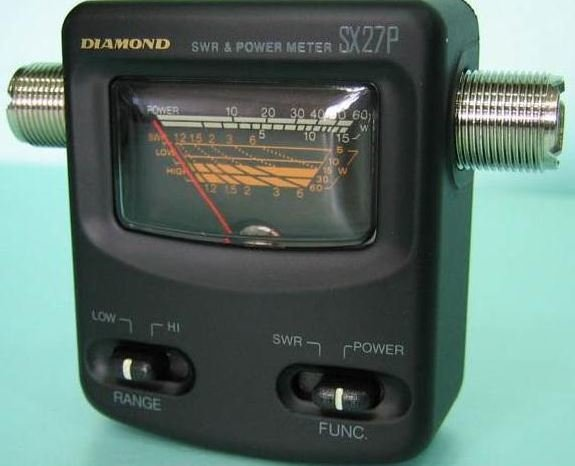 Diamond SX-27P 144-470 MHZ 15-60W SWR Metre