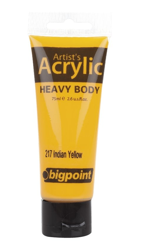 Bigpoint Akrilik Boya 75ml 217 Indian Yellow - 12,71 TL | Hakikat Kırtasiye
