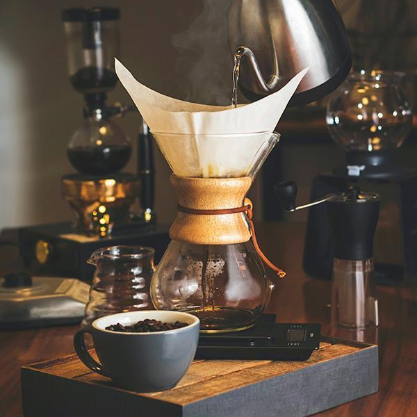 Epinox Borosilikat Cam (Chemex) Kahve Demleme Sürahisi-Karaf 600 ml.