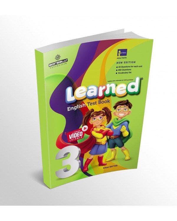 3.Sınıf Learned Englısh Test Book Borealis Yayıncılık