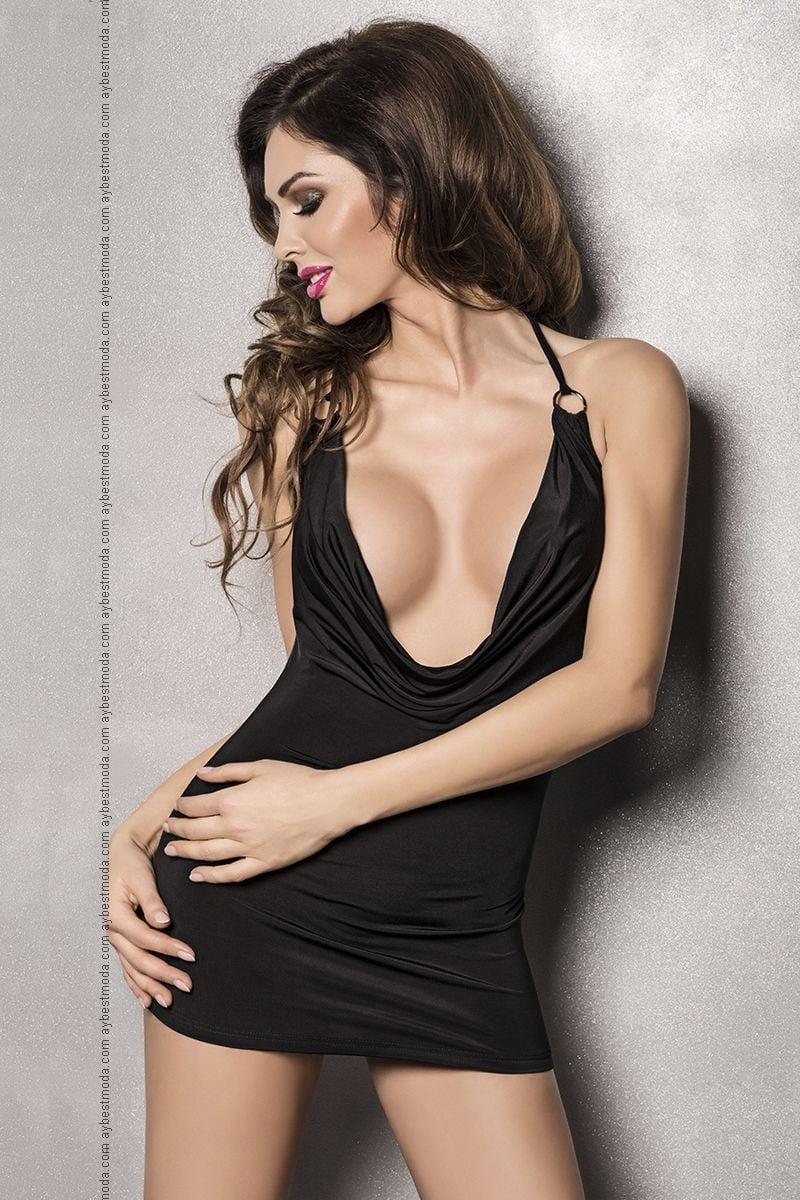 Короткая Платье Грудью