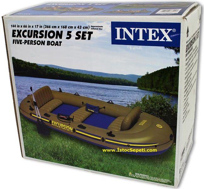 Intex pompası: hattın genel görünümü