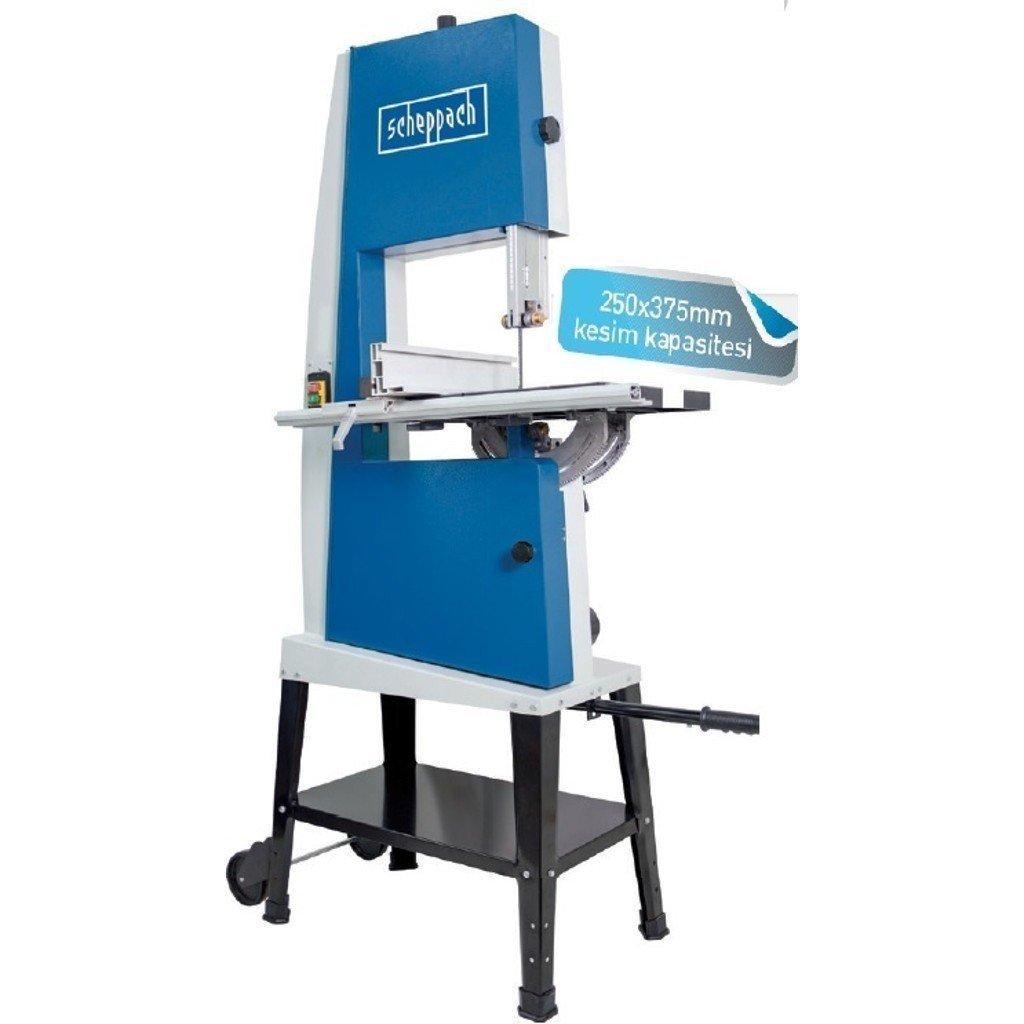 Scheppach Basa 4 Yatarlı Şerit Testere Makinası