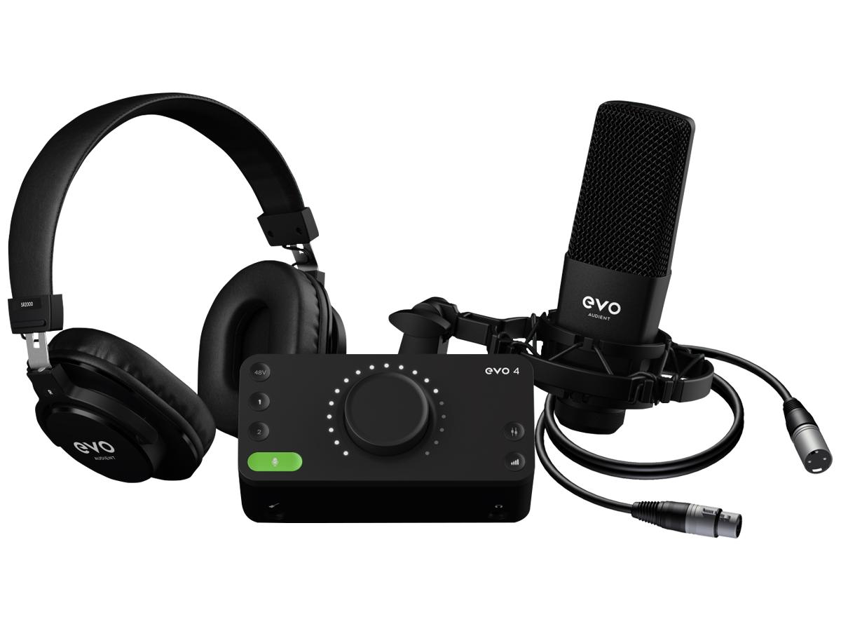 Evo By Audient | Evo Start Recording Bundle | USB-C | Akalın Müzik