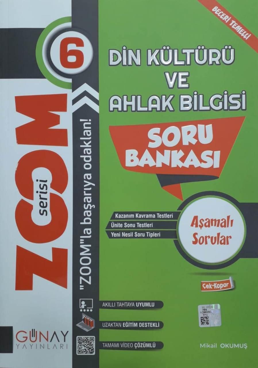 Günay Yayınları 6. Sınıf Din Kültürü Zoom Soru Bankası