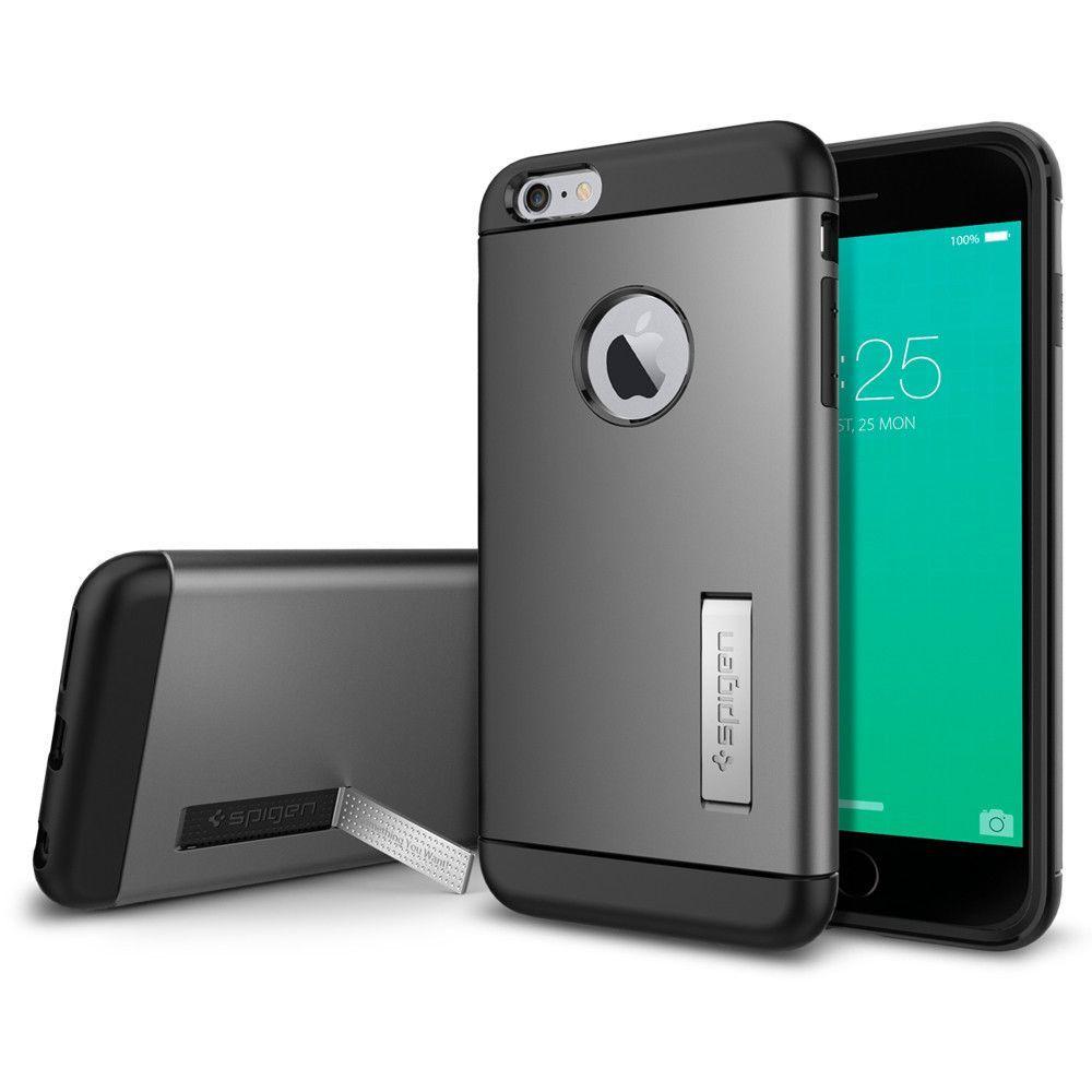 Iphone 6 Axelremsväska : Iphone s plus k l f spigen slim armor