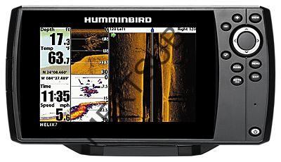 HUMMİNBİRD HELİX 7 Sİ GPS (BALIK BULUCU+GPS+SİDE İMAGİNG)