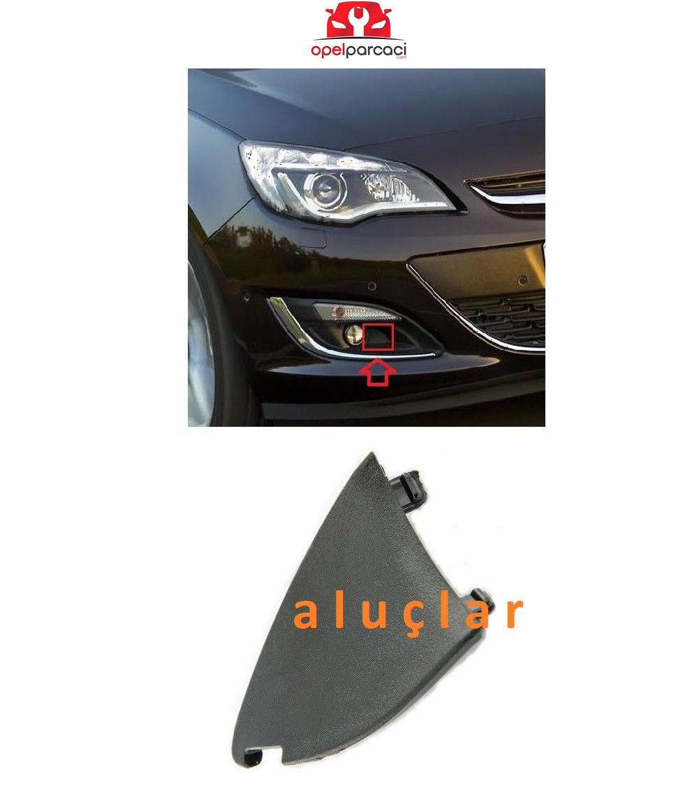 Opel Astra J Sis Far Alt Köşe Küçük Bakaliti Sağ Orijinal