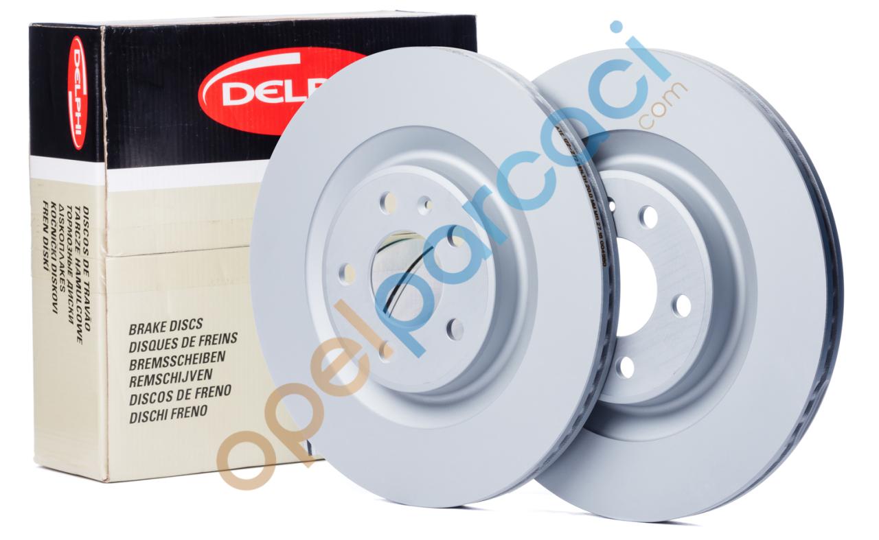 Opel Corsa D Ön Fren Diski Büyük Tip Delphi Marka