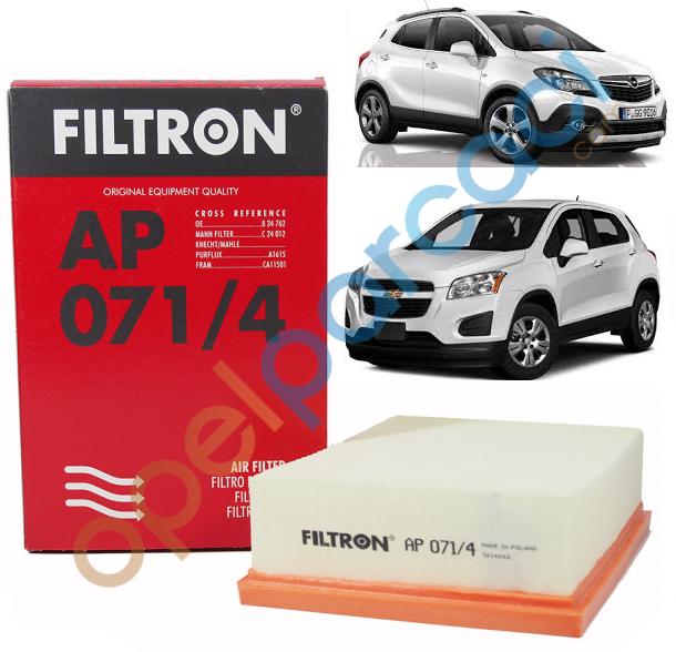 Opel Mokka Hava Filtresi FILTRON