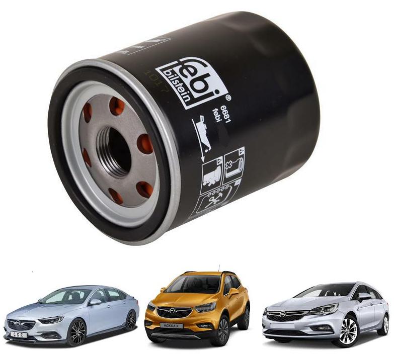 Opel Astra K Yağ Filtresi 1.0 - 1.4 Benzinli Motorlar FEBİ