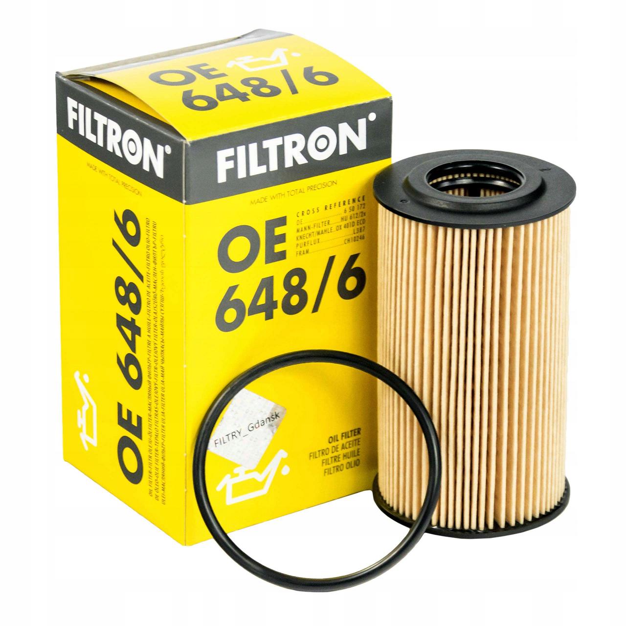 Opel Astra H 1.6 Yağ Filtresi Filtron