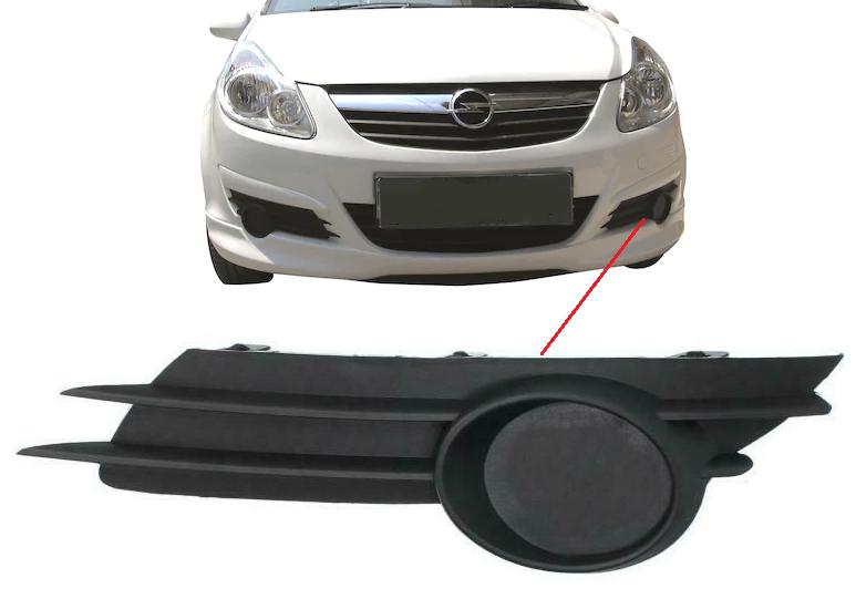 Opel Corsa D Sis Yeri Kapağı SOL 2007 - 2009