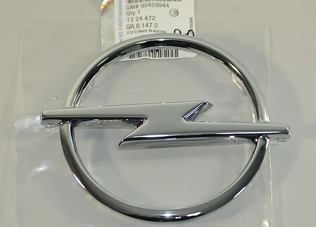 Opel Movano A - Vivaro A - Omega B Ön Panjur Amblemi GM