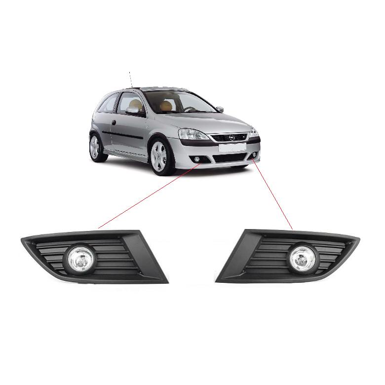 Opel Corsa C Sis Far Seti Takımı Ampulleri Üzerinde