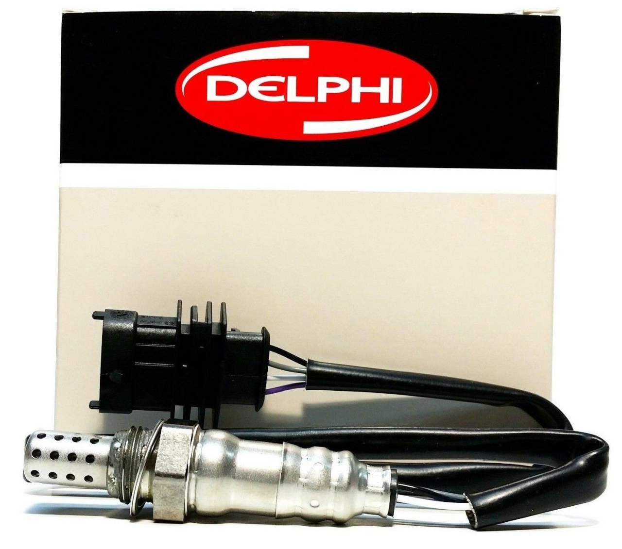Opel Vectra C Oksijen Lambda Sensörü Z16XEP Twinport Katalizör Üzerinde Konum 1 DELPHI