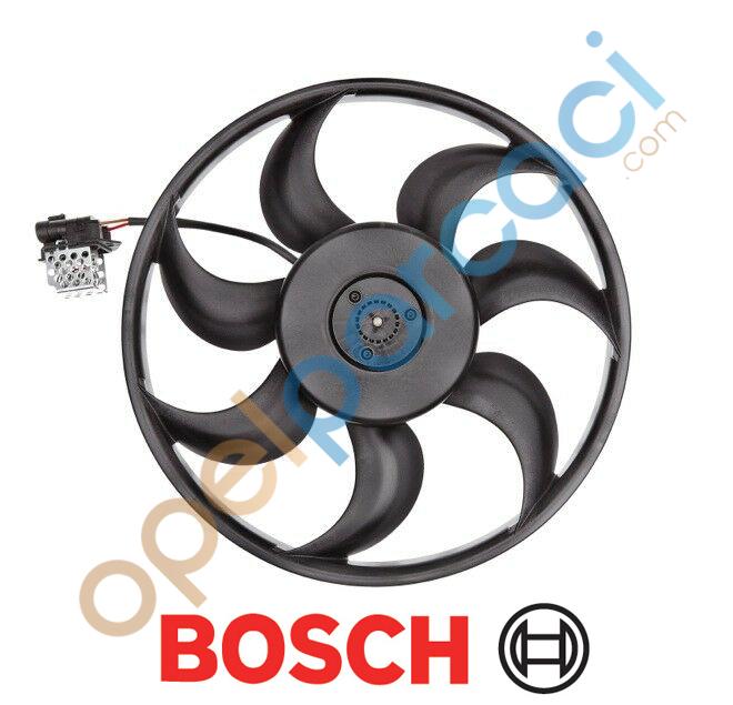 Opel Astra H - Zafira B Radyatör Fan Motoru 1.6(Z16XER-A16XER) Motorlar BOSCH