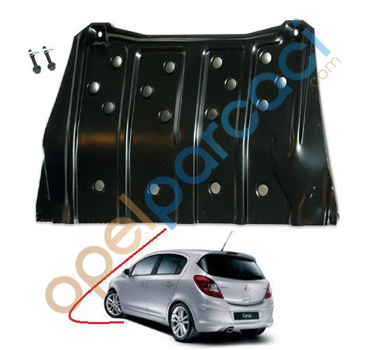 Opel Corsa D Karter Muhafaza Sacı