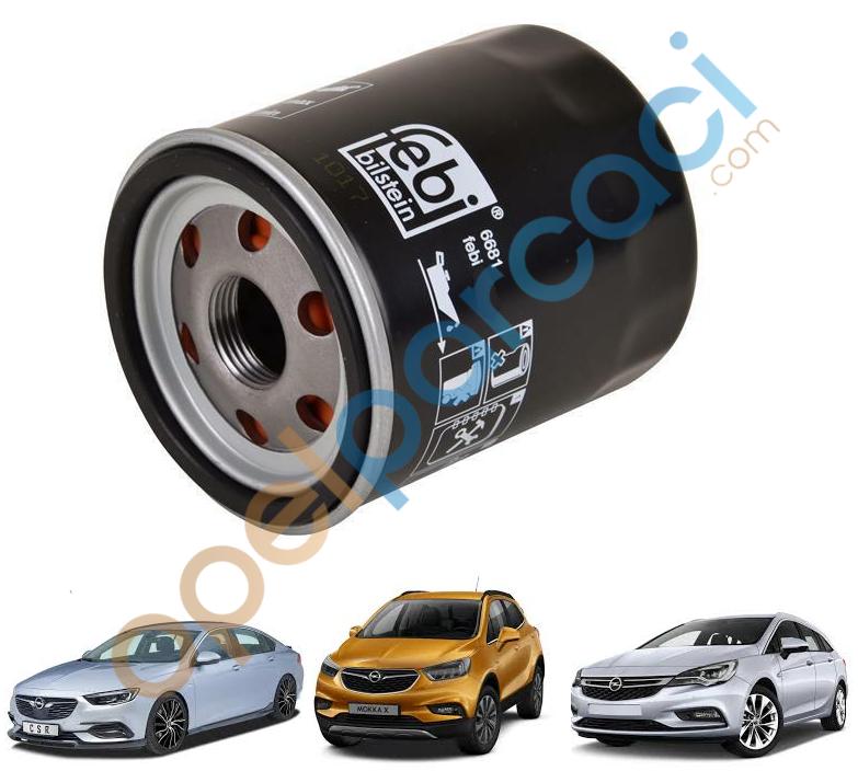 Opel Yağ Filtresi Astra K - İnsignia B - Mokka X 1.0 / 1.4 / 1.5 Benzinli