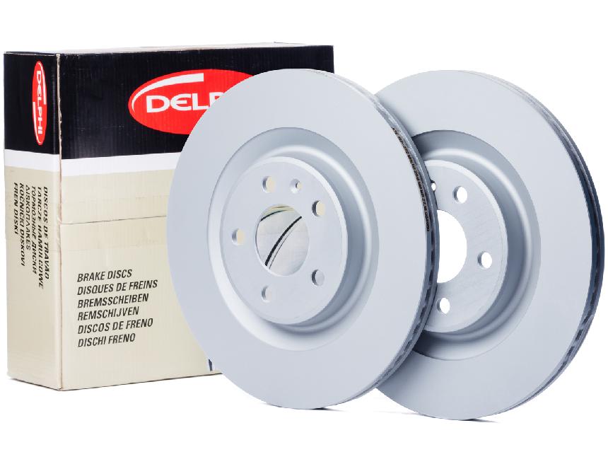 Opel Meriva A 5 Bijon Ön Fren Disk Takımı DELPHİ