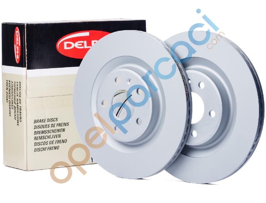 Opel Zafira A 5 Bijon Ön Fren Disk Takımı DELPHİ