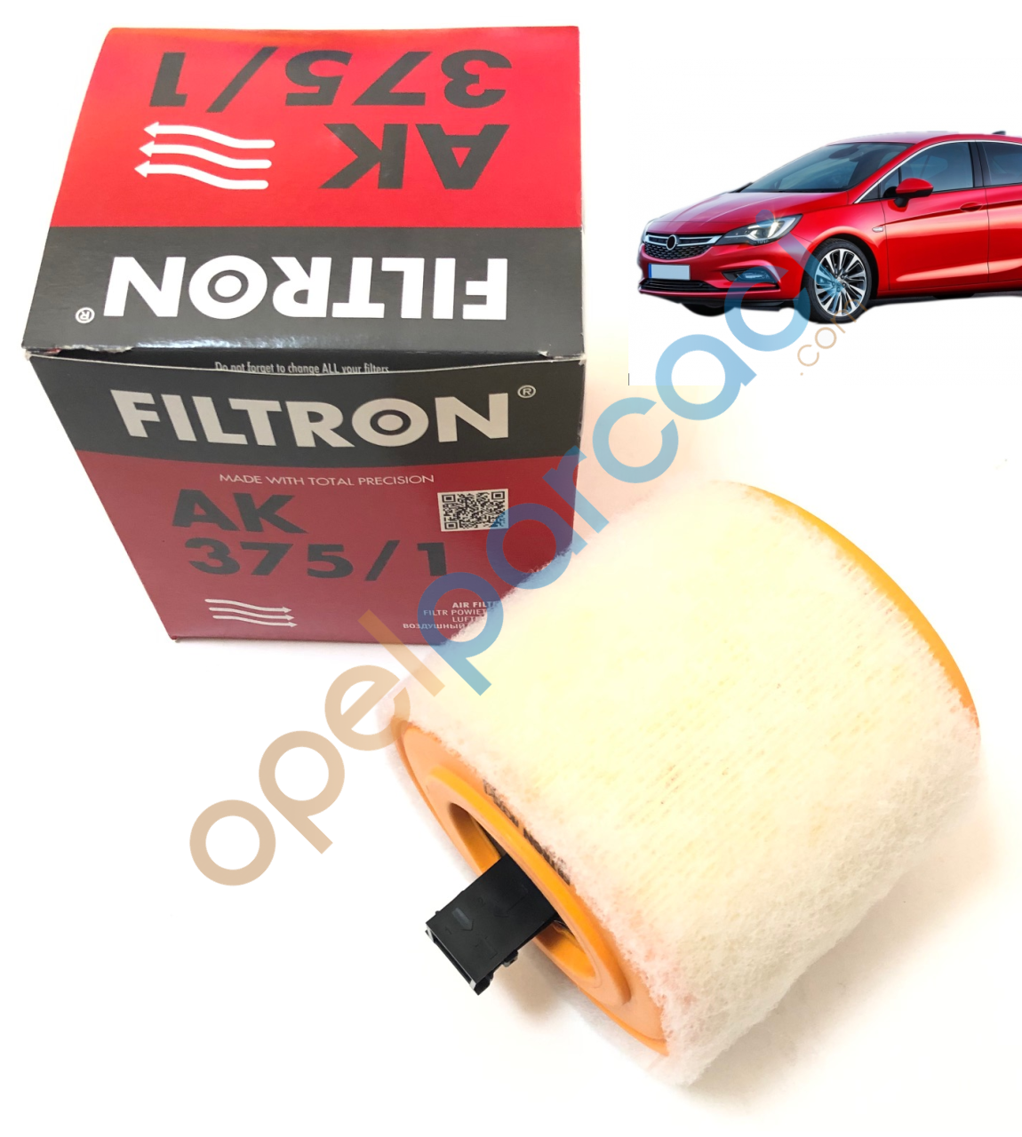 Opel Astra K Hava Filtresi Süngerli FILTRON