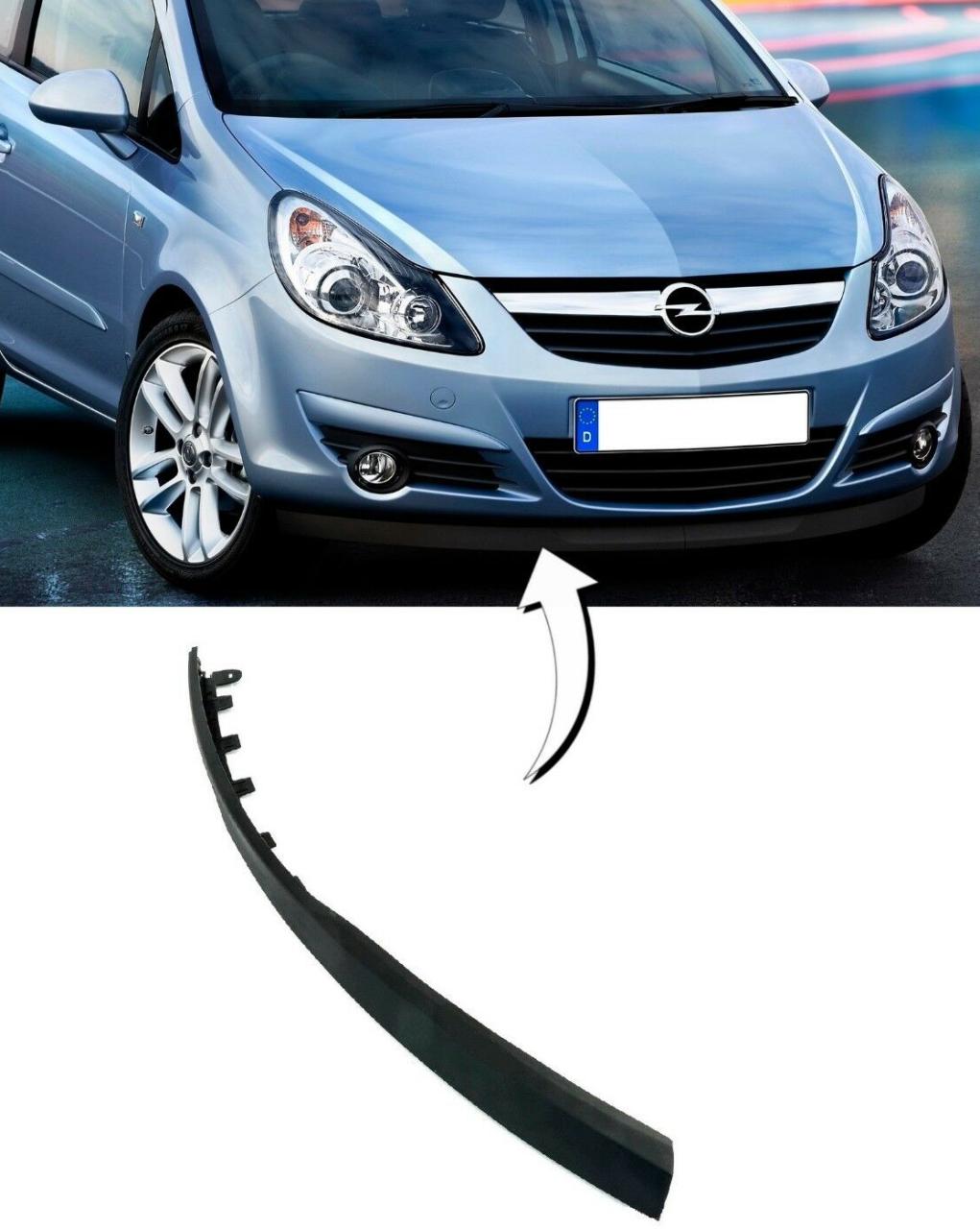 Opel Corsa D Ön Tampon Alt Lastiği SAĞ