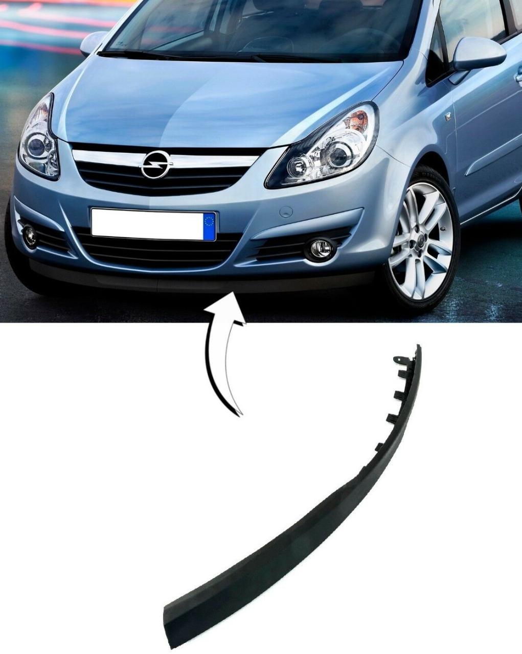 Opel Corsa D Ön Tampon Alt Lastiği SOL