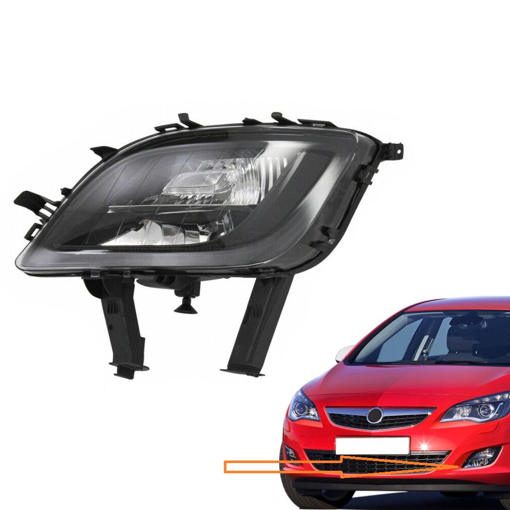 Opel Astra J Sis Farı ve Sinyal Ön Sol Füme