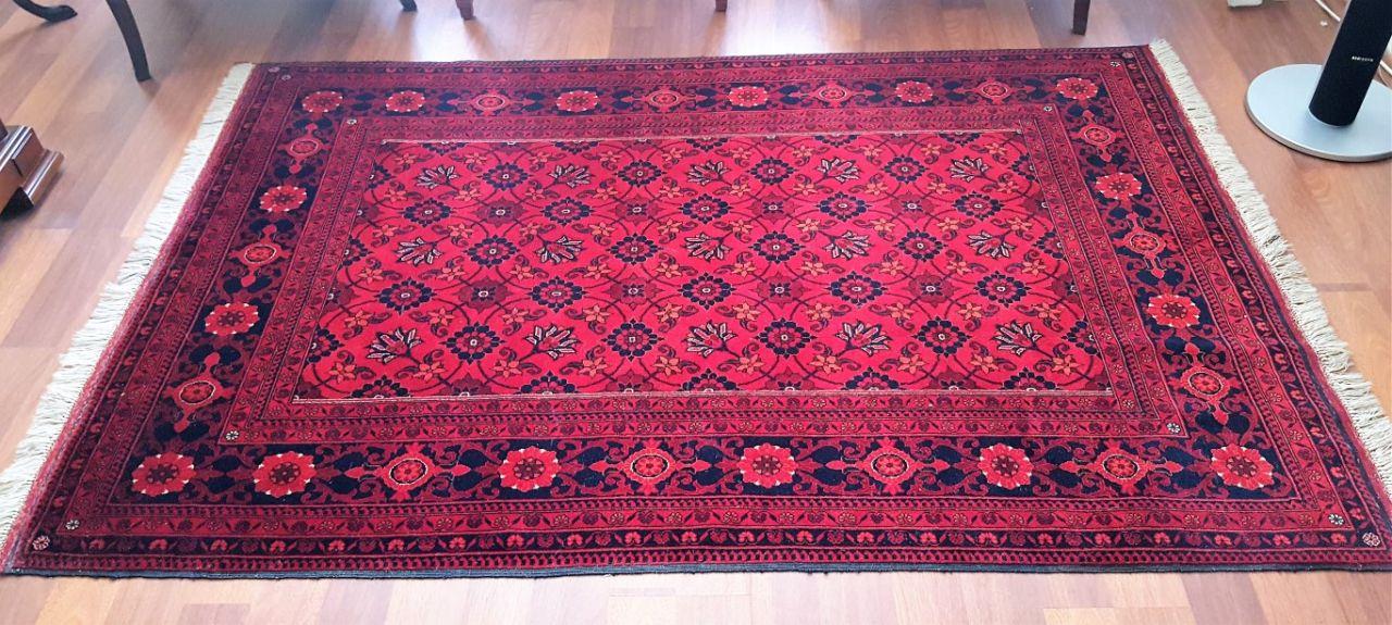 satildi afgan el dokumasi hali 128x197cm