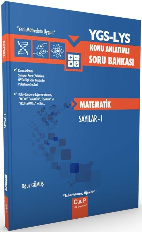 YGS LYS Matematik Sayılar 1 Konu Anlatımlı Soru Bankası Çap Yayınları