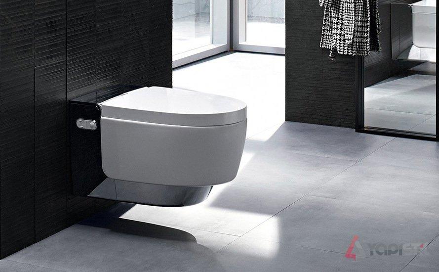 geberit aquaclean mera ak ll klozet comfort parlak. Black Bedroom Furniture Sets. Home Design Ideas
