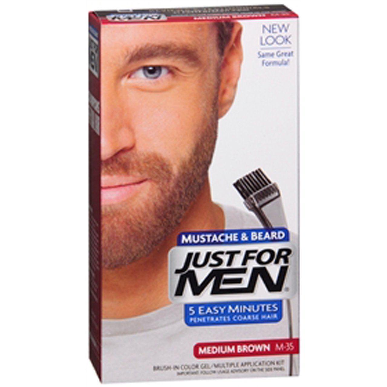 Just For Men Medium Brown (Orta Kahverengi) Sakal Boyası M