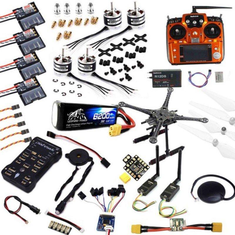 Pixhawk S500 Drone - Quadcopter Seti (Full) , Drone kit , 4 394,67
