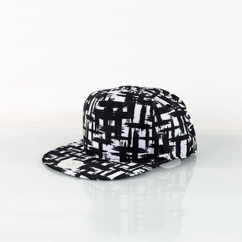 Boyama Siyah Beyaz Full Cap Unisex şapka Türkiyenin En Sevilen